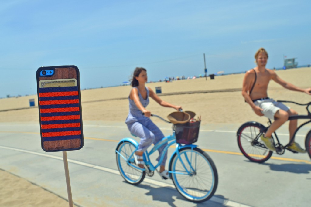 jimmyCASE blue bike santa monica beach