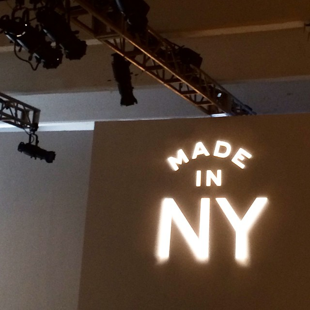 Sitting in the second row for the @lingeriefashionweek Made in the USA show. Who's excited? #nyc #lfwny #style