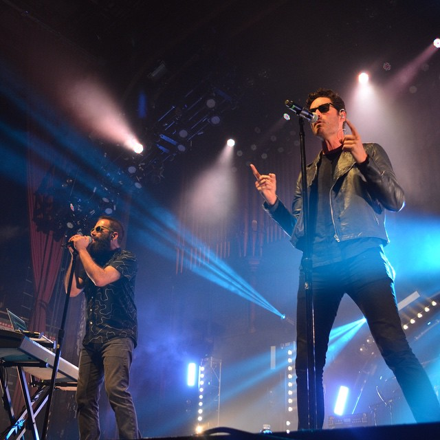 Capital Cities are hitting a new level of sexy tonight! ? by @norasaidso #capitalcities #atlanta #tabernacleatl #meow #tgif