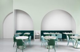 the budapest cafe inspired by Wes Anderson