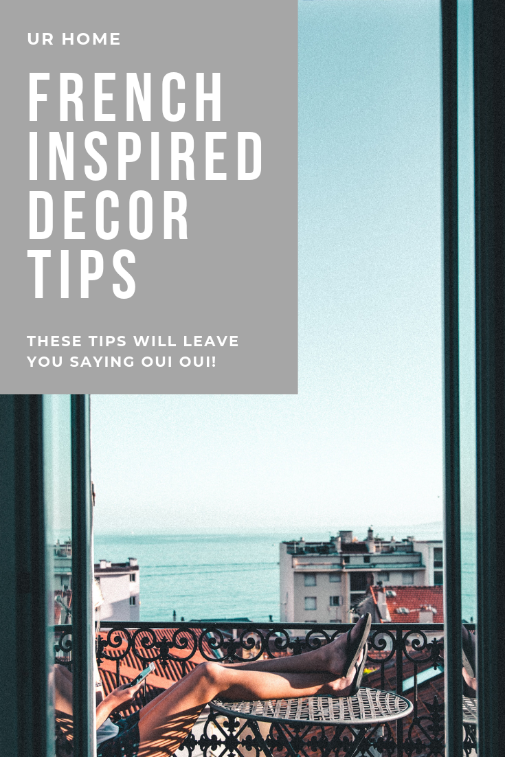 french decor tips